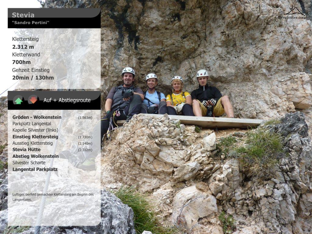 Klettersteig Wolkenstein : Stevia sandro pertini klettersteig abgebaut